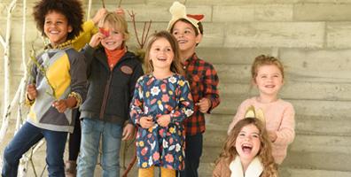 Kindermode für den Herbst